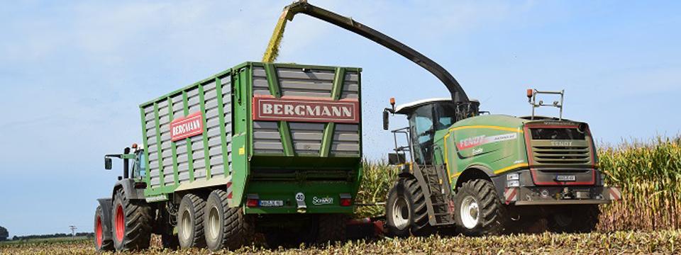 Gras, Mais und GPS Ernte